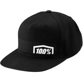 100% Nemesis Snapback Hat Black